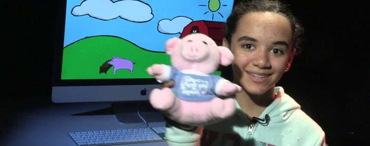"GAVA/GATe: Hannah's ""A Day in the Life of a Pig"""